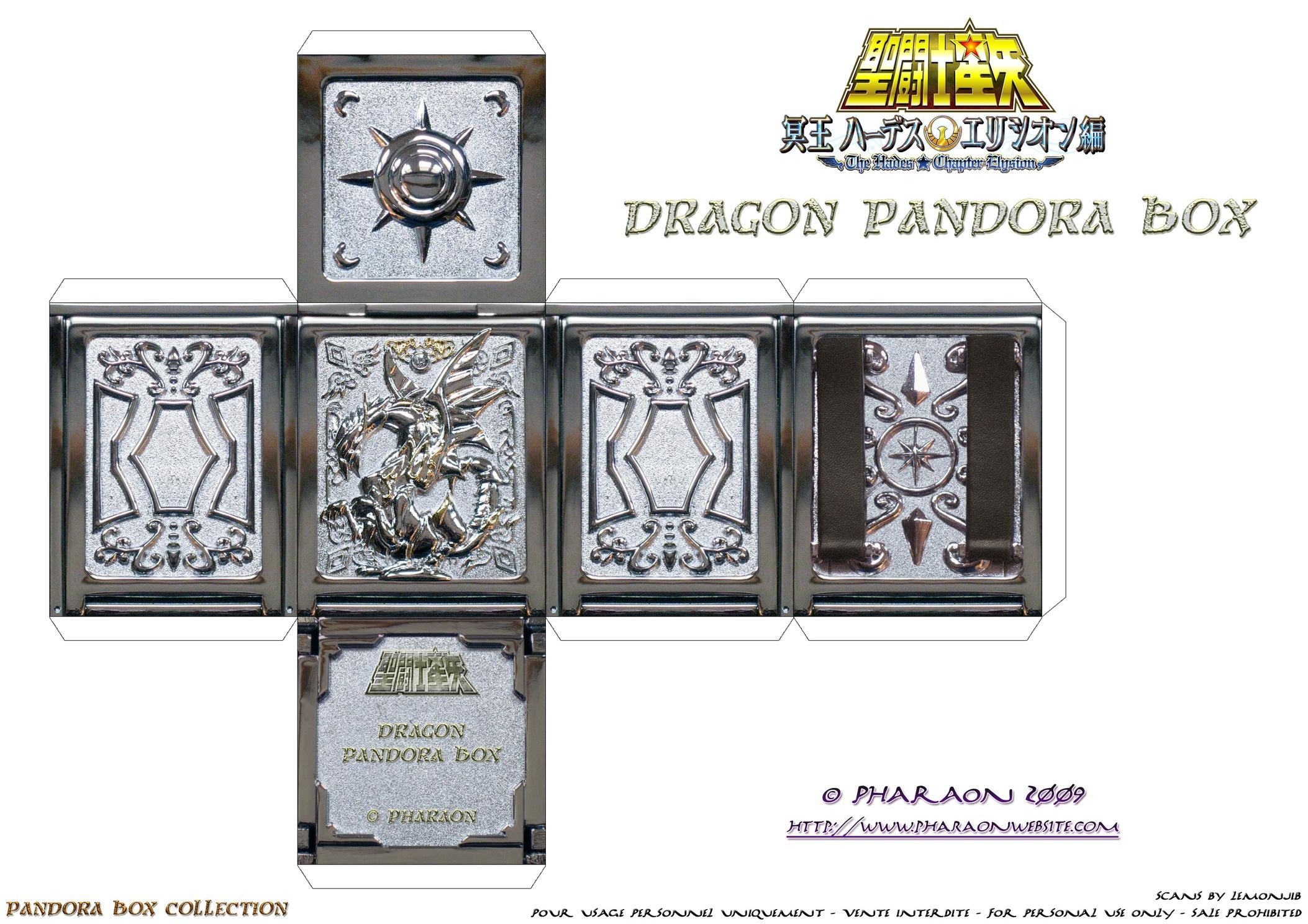 Pandora Boxes Pharaon Website